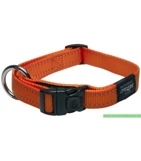 ROGZ FANBELT COLLIER HB06D-20MM ORANGE EN NYLON
