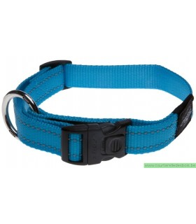 ROGZ FANBELT COLLIER HB06F-20MM TURQUOISE / NYLON - LARGE