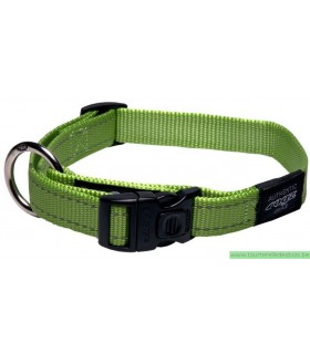 ROGZ FANBELT COLLIER HB06L-20MM VERT / NYLON - LARGE