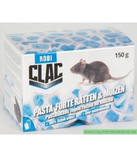 RODICLAC PASTE FORTE RATS & SOURIS - 150GRS (15X10GRS)
