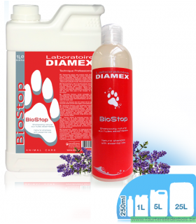 DIAMEX SHAMPOING INSECTICIDE BIO STOP - CHIEN / CHAT -250ML