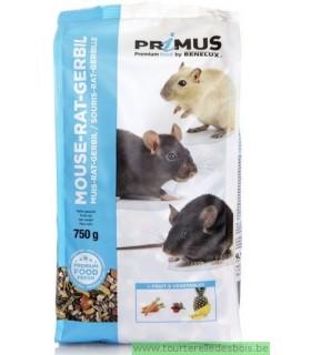 PRIMUS RAT/SOURIS/GERBILLE - 750GRS