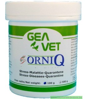 ORNI Q - STRESS DISEASSES FOR BIRDS - 100GRS