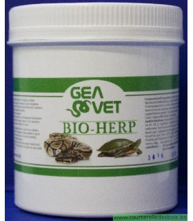 BIO-HERP - SUPPL. FOR CARNIVOROUS REPTILES - 100GRS
