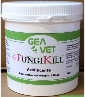 FUNGIKILL ACIDIFIANT INTESTINAL - 250GRS
