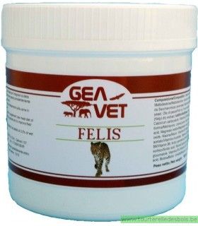 FELIS - TAURINE ENRICHED SUPPL. FOR WILD FELINES - 500GRS