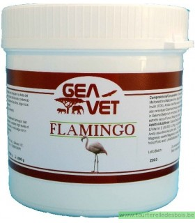 FLAMINGO - SUPPL. FOR FLAMINGOS ENRICHED WITH SPIRULINA - 500GRS