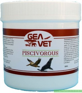PISCIVOROUS - SUPPL. FOR PISCIVOROUS MAMMALS AND BIRDS - 500GRS