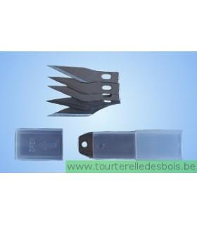 5 lames pour couteau de précision