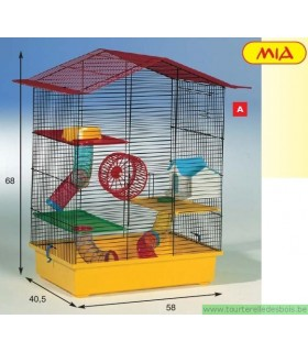Cage pour hamster Mia FUNNY