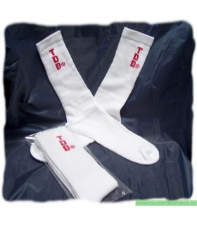 Chaussettes tennis TDB rougeTaille L